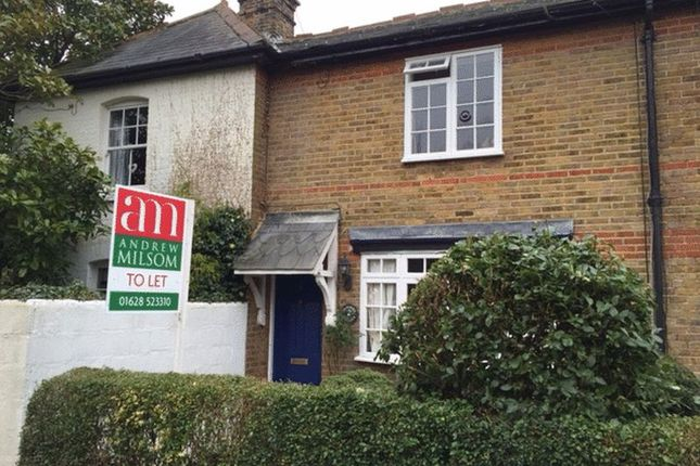 Thumbnail Terraced house to rent in Hill Farm Road, Taplow, Maidenhead