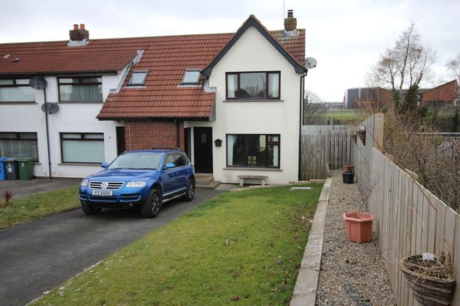 Thumbnail Terraced house for sale in Cayman Drive, Bangor