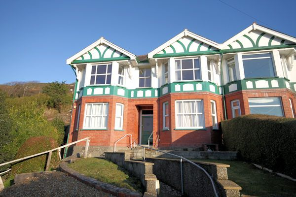 Thumbnail Semi-detached house for sale in Off Gwelfor Road, Aberdovey