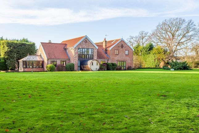 Thumbnail Detached house for sale in Mill Lane, Thorpe Abbotts, Diss
