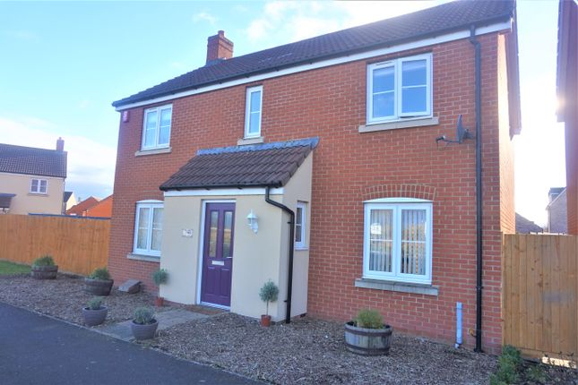 Thumbnail Detached house for sale in Law Grove, West Wick, Weston-Super-Mare