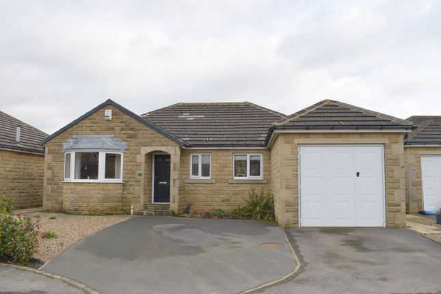 Thumbnail Detached bungalow for sale in Vicarage Meadows, Cinderhills, Holmfirth