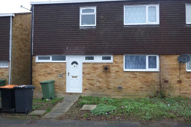 Thumbnail Terraced house to rent in Bloomsbury Gardens, Houghton Regis, Dunstable