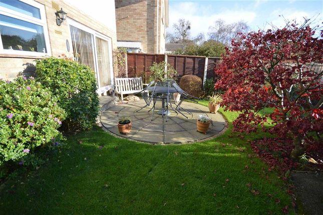 Rear Garden of Keswick Road, New Milton BH25