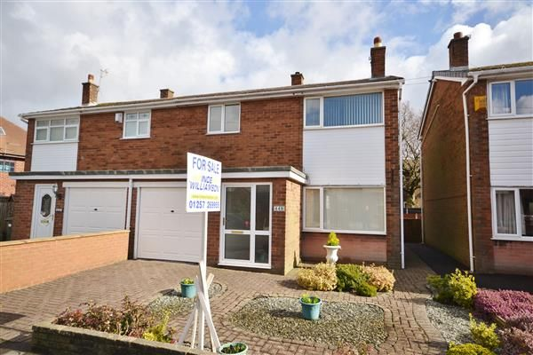Thumbnail Semi-detached house for sale in Park Road, Coppull, Chorley