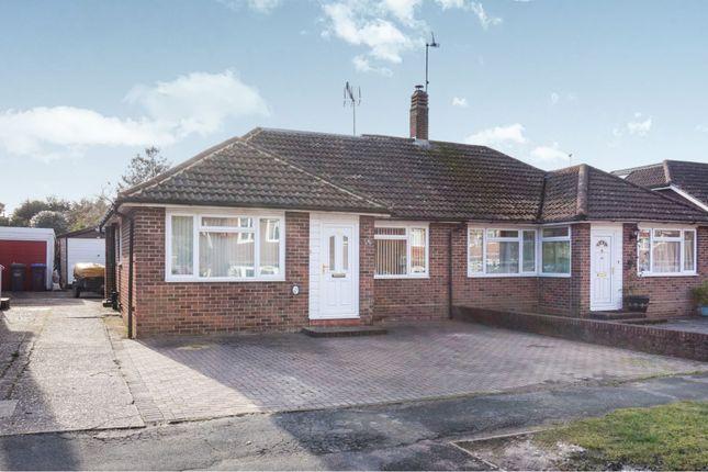 Thumbnail Semi-detached bungalow for sale in Friars Oak Road, Hassocks