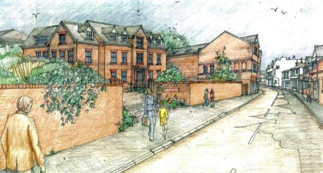 Thumbnail Flat for sale in Serpentine Court, Parkgate Road, Neston