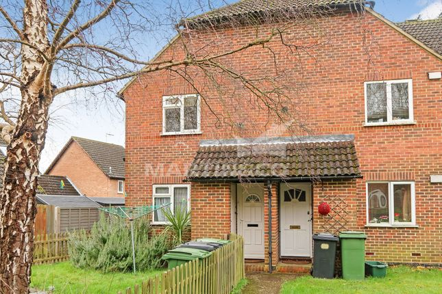 Thumbnail Maisonette to rent in Elderberry Bank, Lychpit, Basingstoke