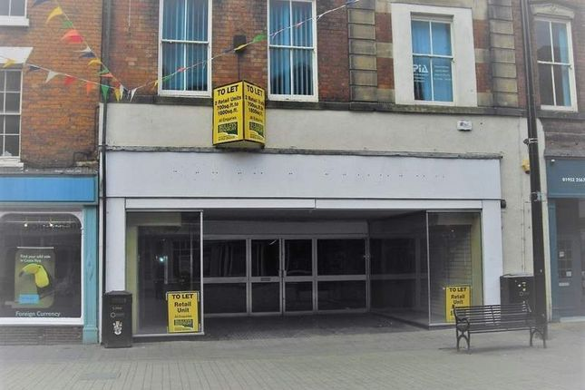 Thumbnail Retail premises to let in 4 Market Square Wellington, Telford
