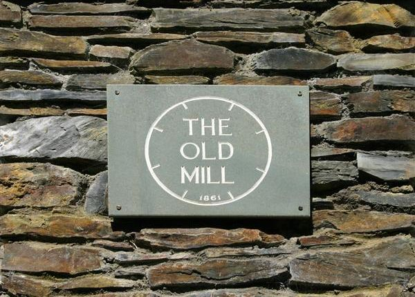 Overview of The Old Mill, The Corony, Maughold IM7