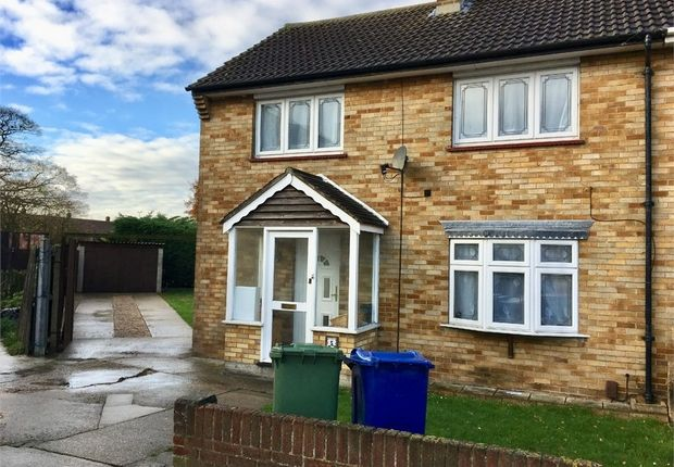 Thumbnail End terrace house to rent in St Patricks Place, Chadwell St Mary, Essex