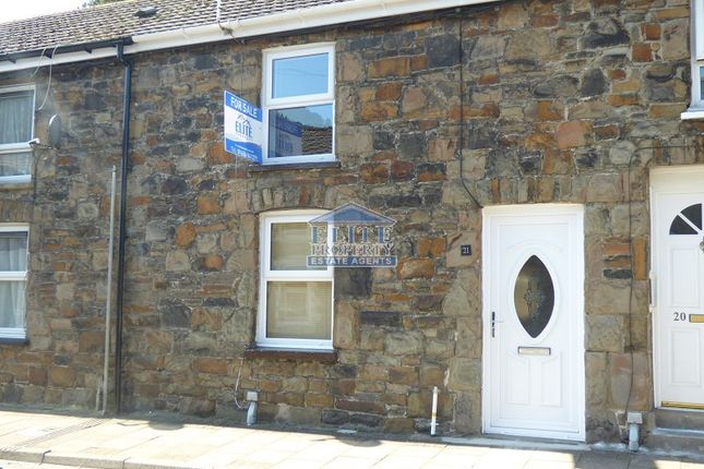 Thumbnail Terraced house for sale in Llewellyn Street, Ogmore Vale, Bridgend .