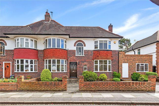 Thumbnail Detached house to rent in Burdett Avenue, Wimbledon, London