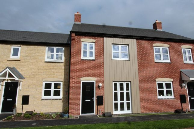 Thumbnail Terraced house to rent in Chepstow Court, Barleythorpe, Oakham
