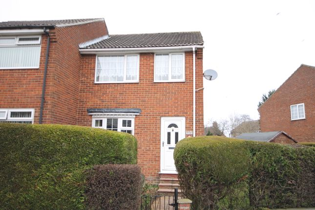 Thumbnail End terrace house for sale in Priest Close, Hunmanby