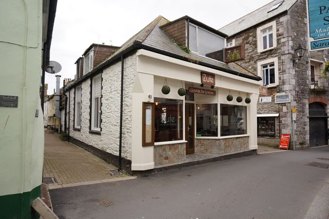 Thumbnail Restaurant/cafe for sale in Buller Street, East Looe, Cornwall
