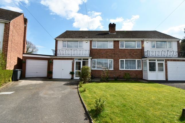 3 bed semi-detached house for sale in Peverell Drive, Hall Green, Birmingham B28