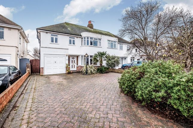 Thumbnail Semi-detached house for sale in Nutley Drive, Goring-By-Sea, Worthing