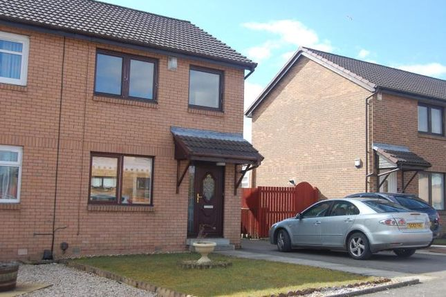 Thumbnail Semi-detached house to rent in Castle View, Newmains, Wishaw