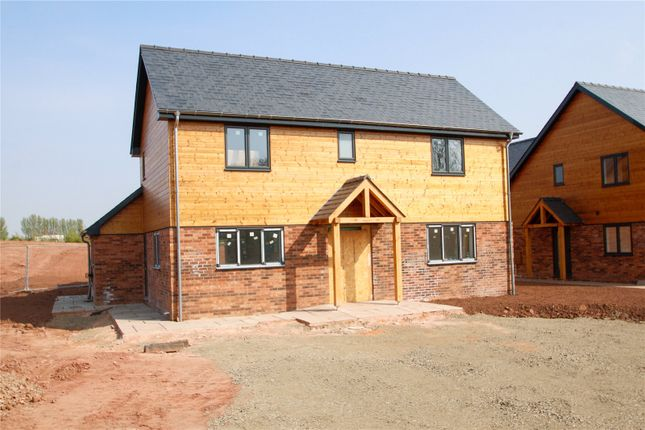 Thumbnail Detached house for sale in Orchard Meadow, Brampton Abbotts, Ross-On-Wye, Hfds