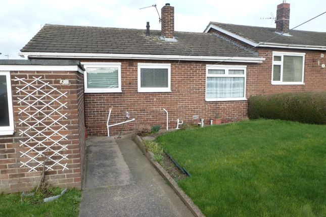 Thumbnail Semi-detached bungalow to rent in Hyman Walk, South Elmsall, Pontefract