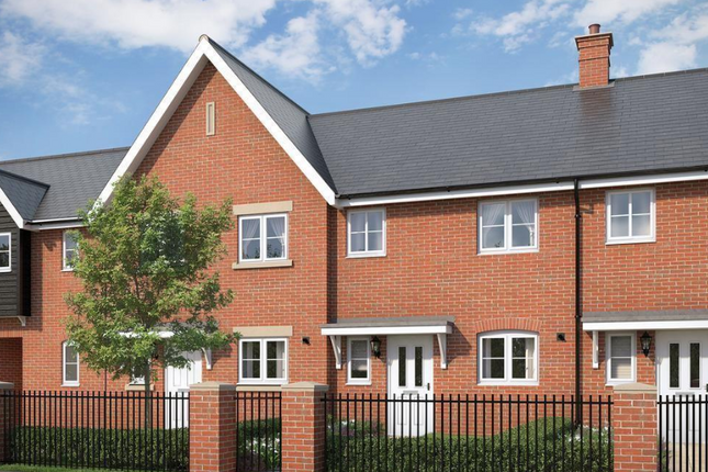 Thumbnail Terraced house for sale in The Elder At Countryside At Chesterwell, Nayland Road, Mile End, Colchester, Essex