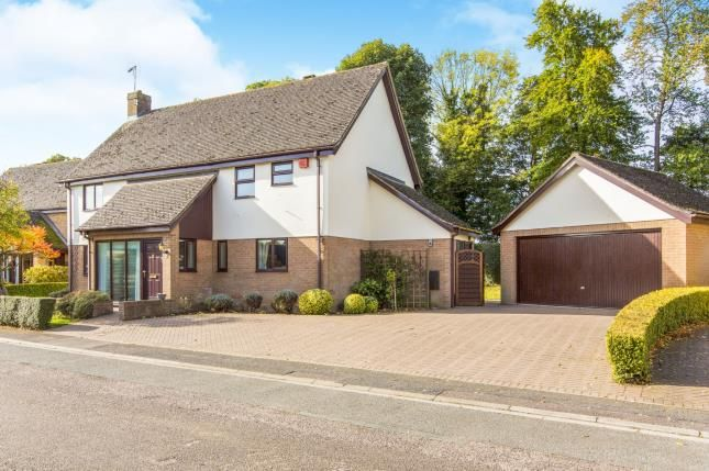 Thumbnail Detached house for sale in Allens Orchard, Brampton, Huntingdon, Cambridgeshire