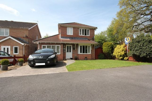 Detached house for sale in Plas Gwernen, Barry