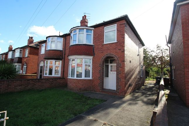Thumbnail Semi-detached house for sale in Zetland Road, Doncaster