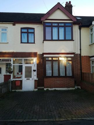 Thumbnail Terraced house to rent in Greensted Avenue, Woodford
