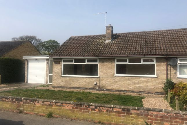 Thumbnail Semi-detached bungalow to rent in Macaulay Drive, Balderton, Newark