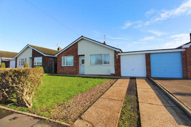 Thumbnail Detached bungalow for sale in Saxon Gardens, Caister-On-Sea, Great Yarmouth