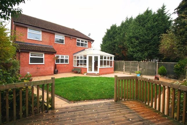 Thumbnail Detached house to rent in Wollescote Drive, Monkspath, Solihull