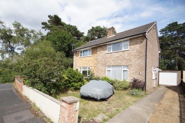 Thumbnail Semi-detached house for sale in Lake Drive, Bordon