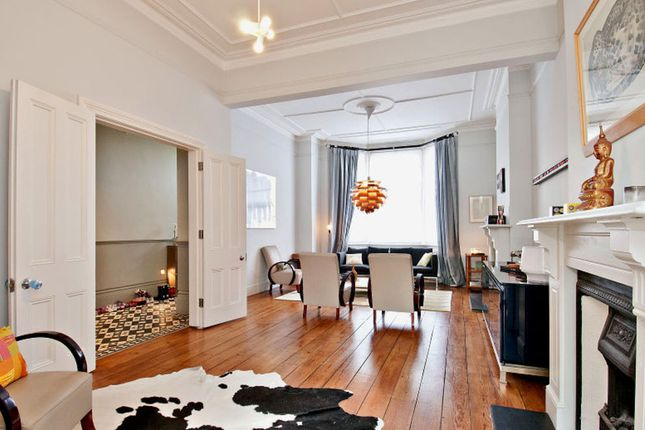 Thumbnail Terraced house for sale in Luxemburg Gardens, Brook Green, London