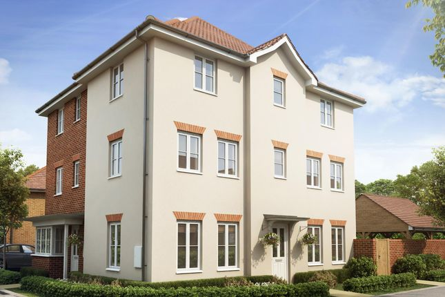 """Thumbnail Semi-detached house for sale in """"Brentwood"""" at Dorman Avenue North, Aylesham, Canterbury"""