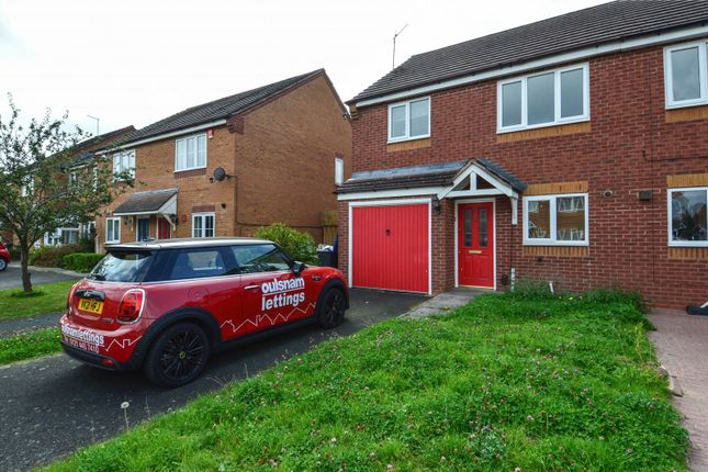 Thumbnail Semi-detached house to rent in Honeycomb Way, Northfield, Birmingham