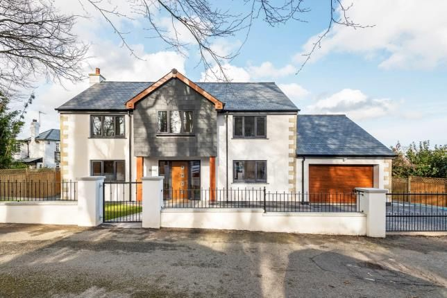 Thumbnail Detached house for sale in Duporth, St. Austell, Cornwall