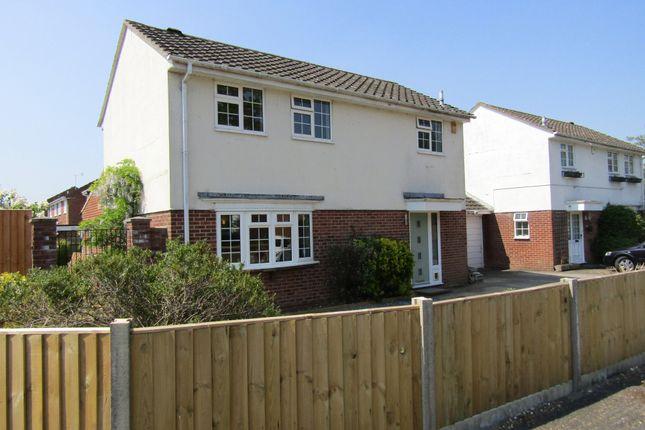 Thumbnail Detached house for sale in Colt Close, Rownhams, Southampton, Hampshire