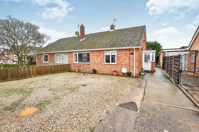 Thumbnail Semi-detached bungalow for sale in North Park, Fakenham