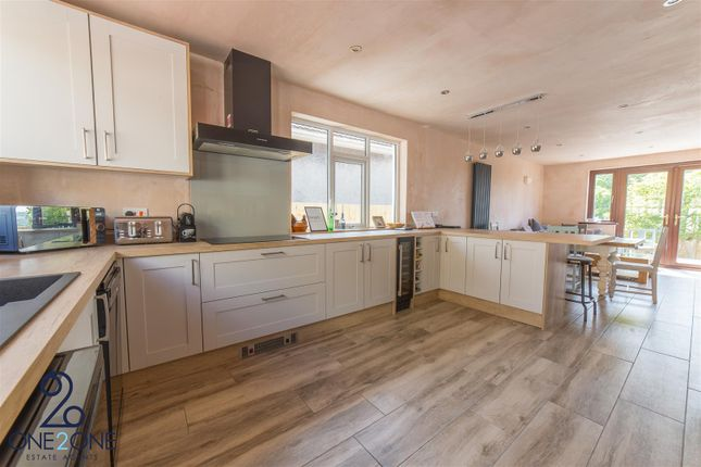Thumbnail Detached bungalow for sale in Tredegar Park View, Rogerstone, Newport