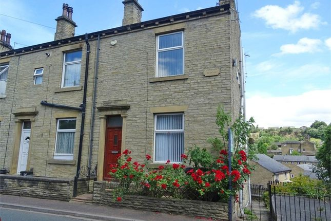 Thumbnail End terrace house for sale in Thornhill Road, Brighouse, West Yorkshire