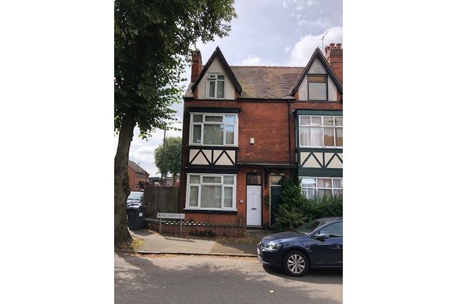 Thumbnail End terrace house for sale in Hillcrest Road, Moseley, Birmingham