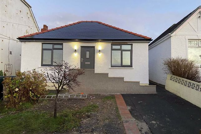 Thumbnail Detached bungalow for sale in Heol Treventy, Cross Hands, Llanelli