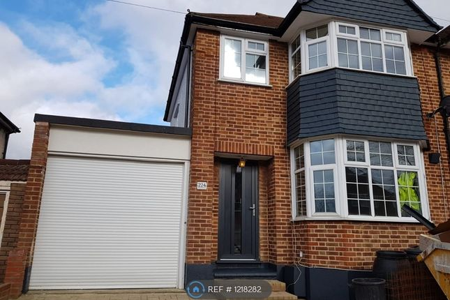 Thumbnail End terrace house to rent in Lynmouth Avenue, Morden