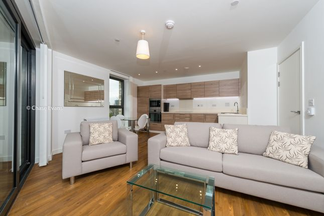 Living Area of Kingfisher Heights, Waterside Park, Royal Docks E16