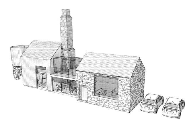 Thumbnail Detached house for sale in Oakwood Barn, Rue Du Monnaie, St Andrew's, Trp Tba