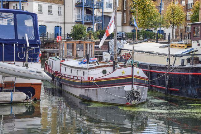 Houseboat for sale in De Hoop Doet Leven, Limehouse Basin