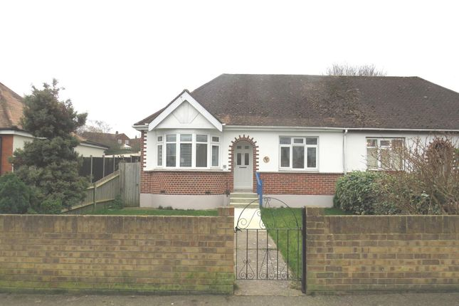 Thumbnail Semi-detached bungalow for sale in Begonia Avenue, Rainham, Gillingham