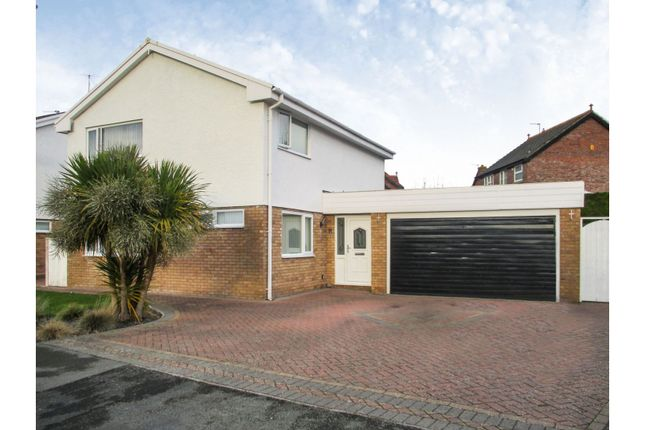 Thumbnail Detached house for sale in Lewis Close, Llandudno